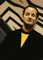 "Bill Murray from the movie ""Lost in Translation"""