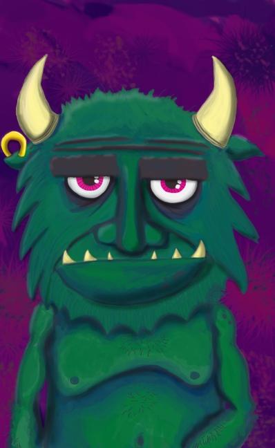 Gruggen the Troll