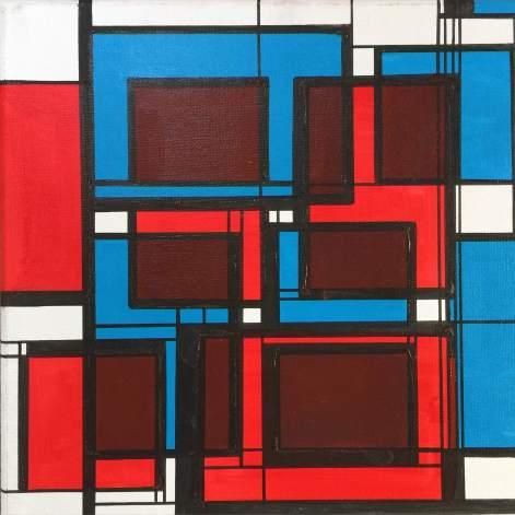 Squares Relative Blue