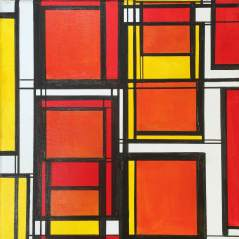 Squares Relative Red