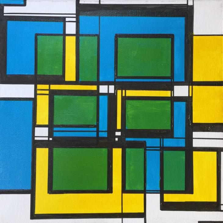 Squares Relative Yellow