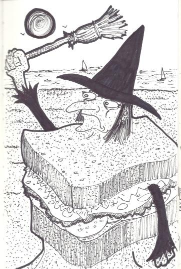 Sand Witch Sandwich