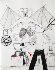 Satan Wants His Heads