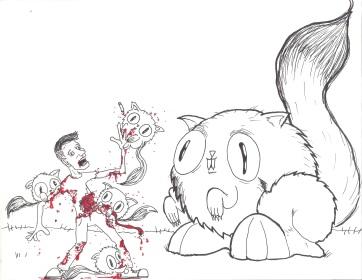 Violent Cat Ball Kitties