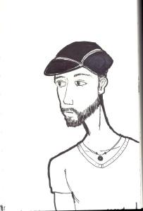 Self Portrait Cycling Cap
