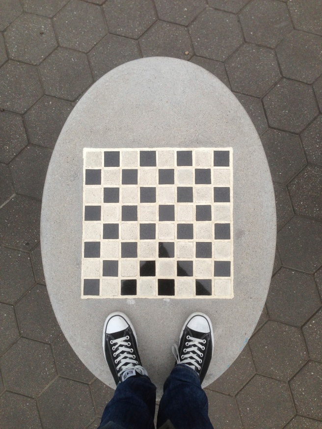 Checker Board Converse