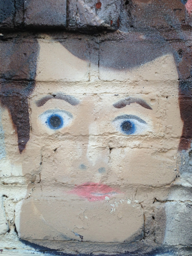 Face On Bricks