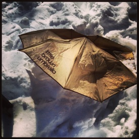 Little Brown Umbrella