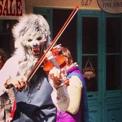 Violin Wolf