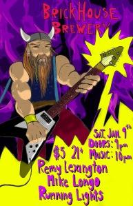 Rock Dance Viking God