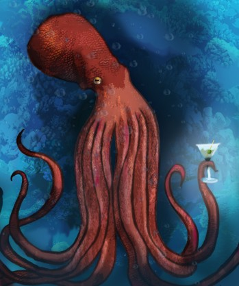 Cocktail Octopus