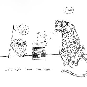 Blind Melon meets Deaf Leopard