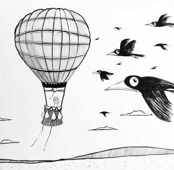 Worry in a balloon