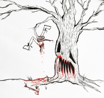 Tree no like Lumberjack