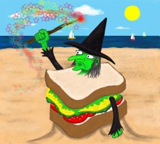 A Sand Witch Sandwich