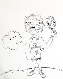 Billy Mugface and the curse of the Breakable Mirrors