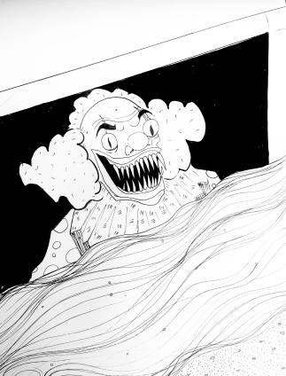 Pennywise in the Drain
