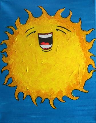 The Feeling of Sun - Feeling Like Laughing