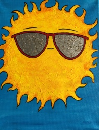 The Feeling of Sun - Red Shades Feeling Hot